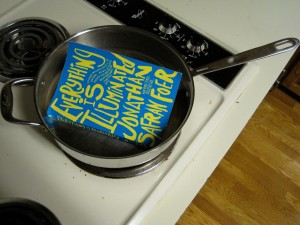 <i>Everything</i> ... in the frying pan!
